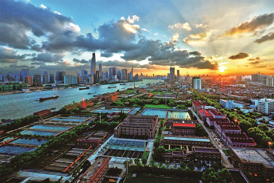 Yangpu: from turn-of-the-century industrial zone toward a future of innovation
