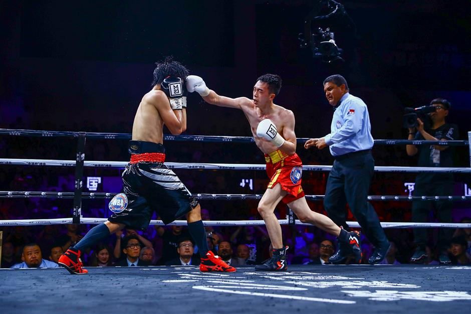 China's new boxing hope 'Can' go distance