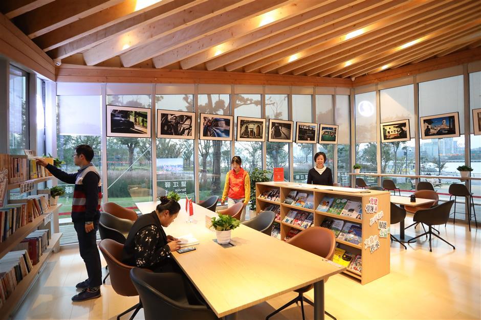 Huangpu River waterfront's cultural hub of modernity