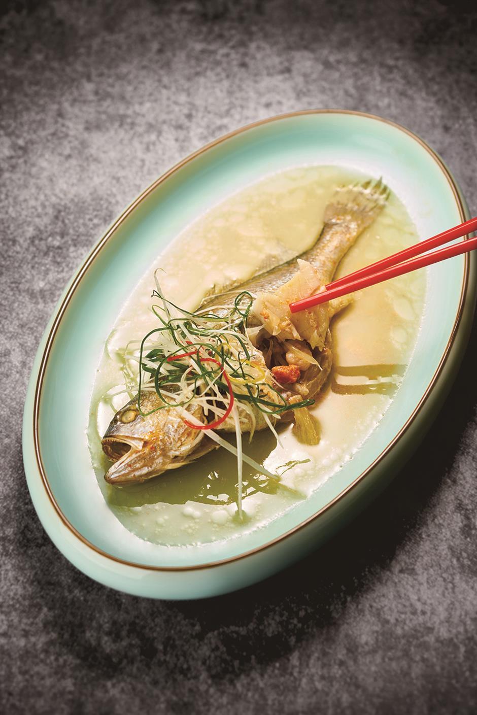 Delicious cuisine … and no bones about it