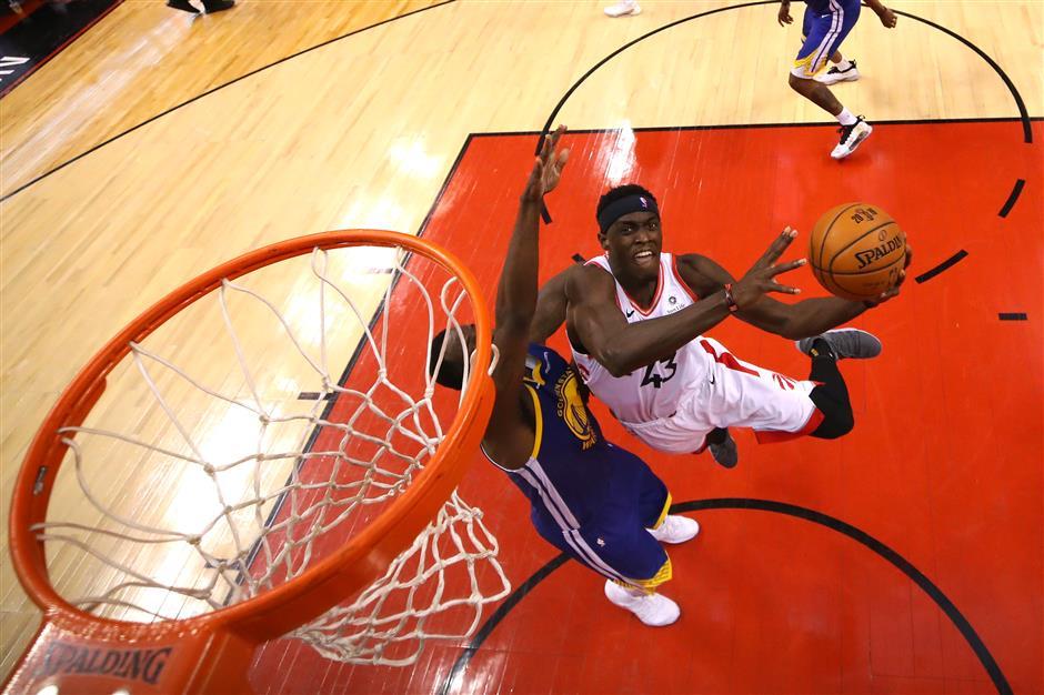 Toronto Raptors defeat Golden State in NBA Finals opener