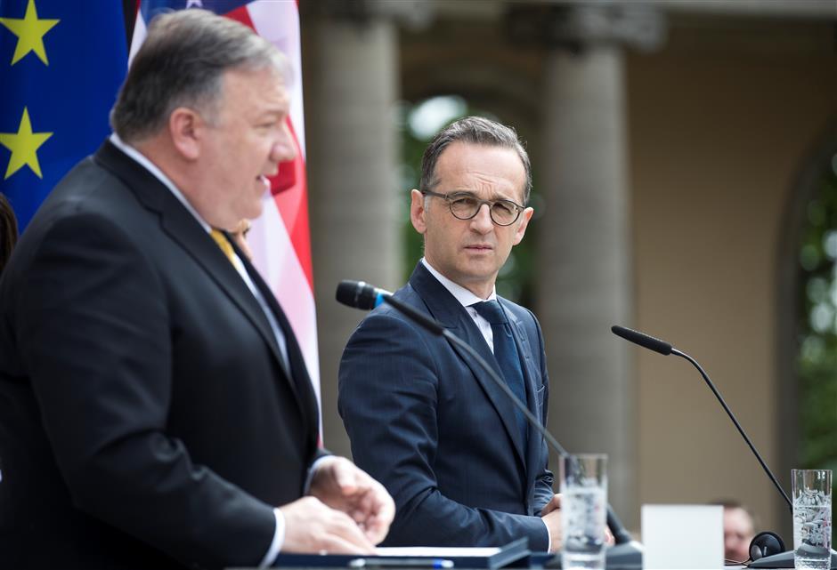German, US top diplomats strike different tones on Huawei 5G