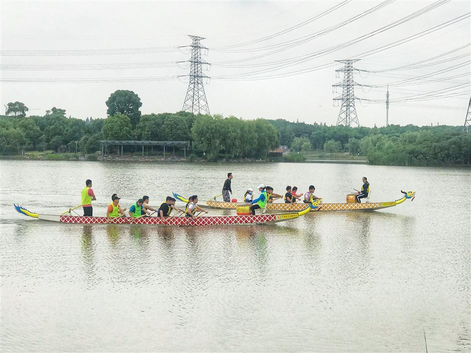 Dragon-Boat Festival, and fun for all