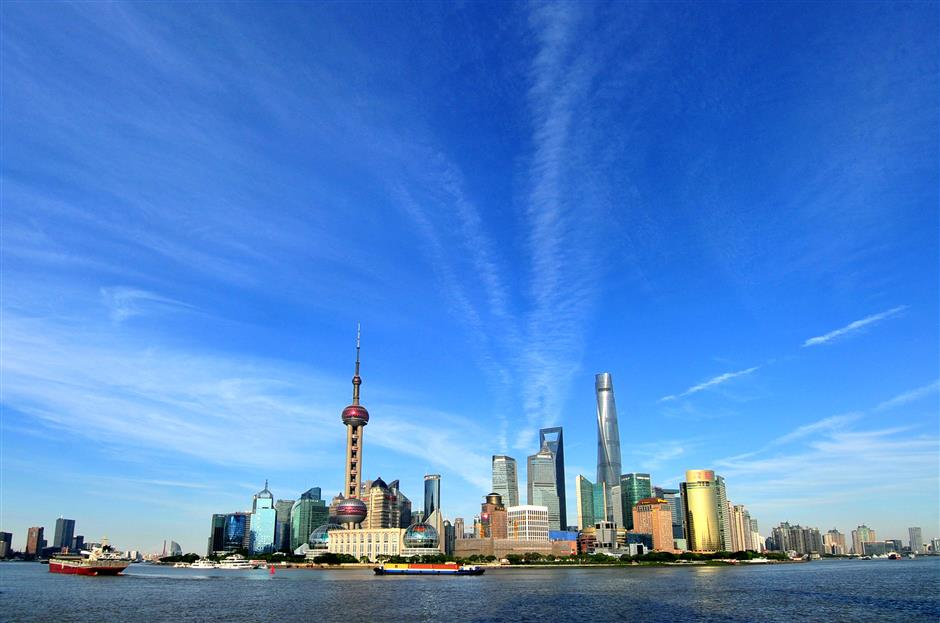 Pudong: vision of the future