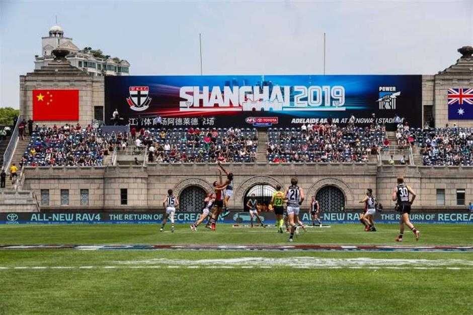 Aussie Rules makes its mark in China