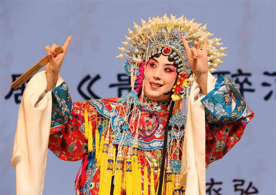 Traditional opera stars open culture festival