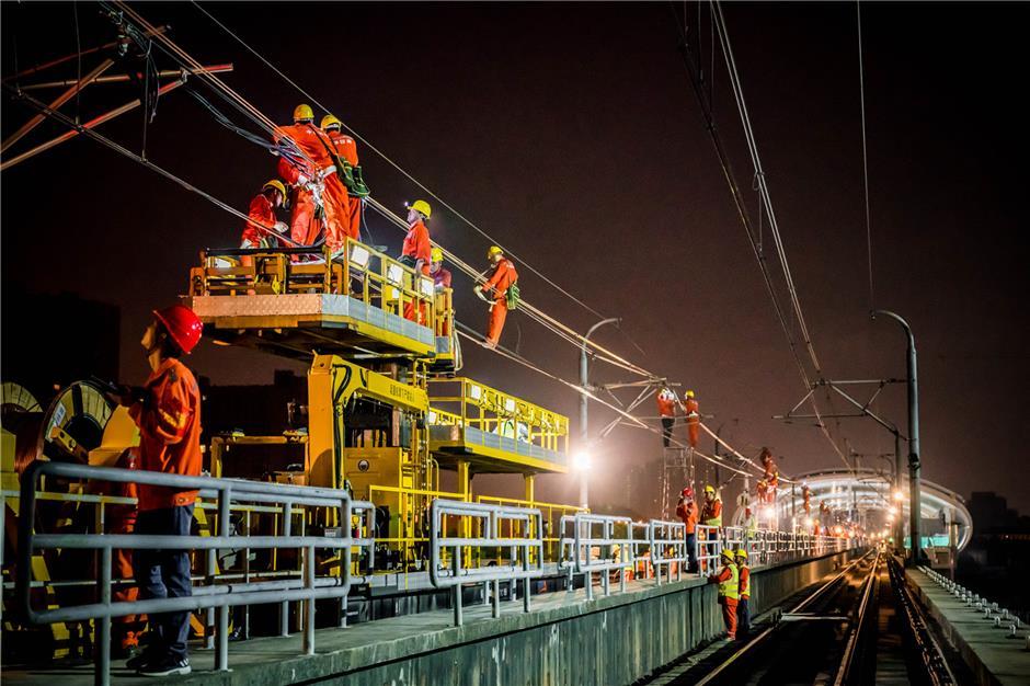 Metro power shift on the night shift