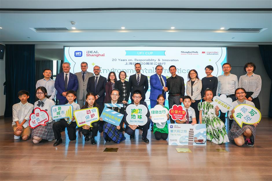 Garbage sorting wins top prize for Shanghai student