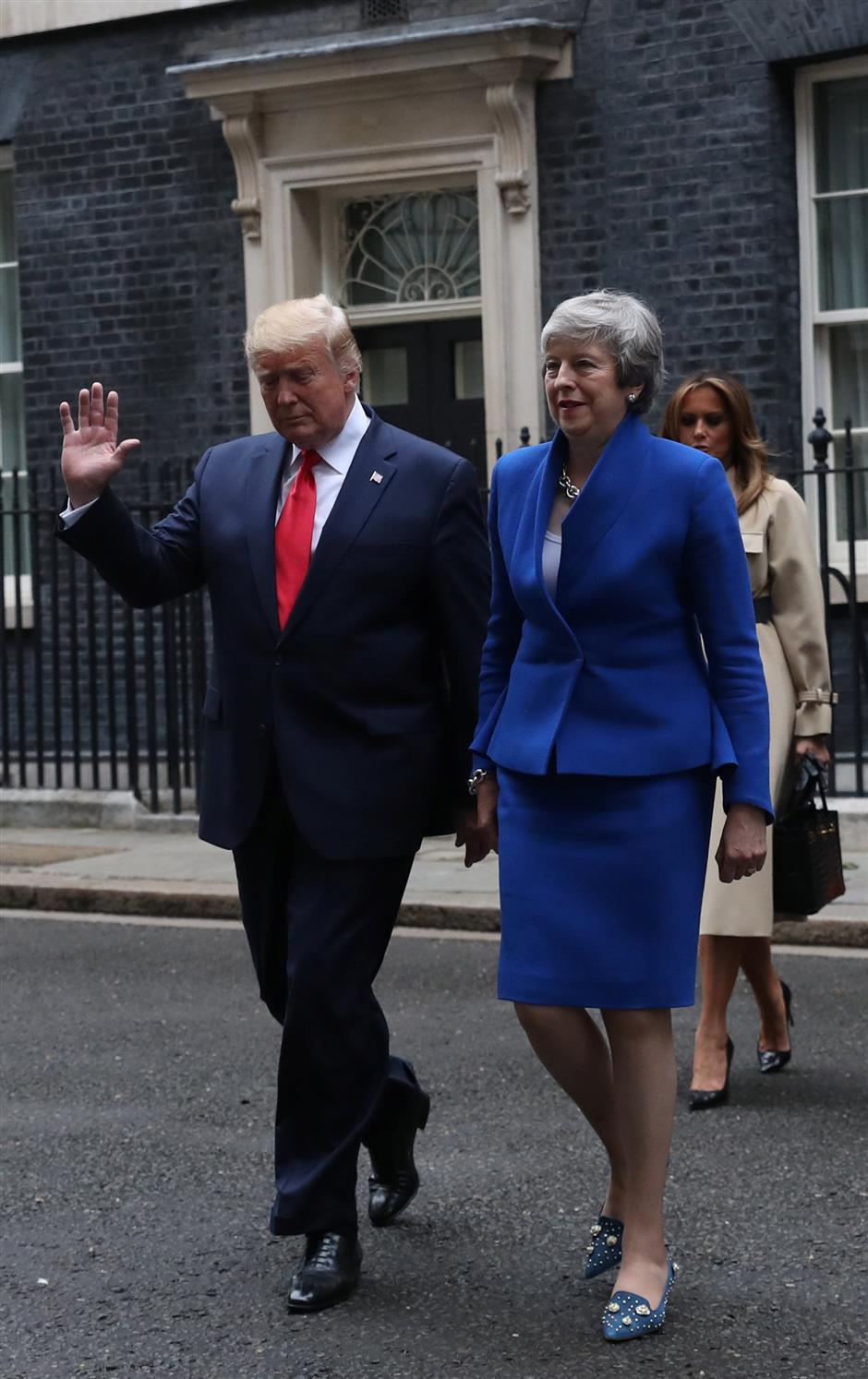 Trump touts 'substantial trade deal' post-Brexit