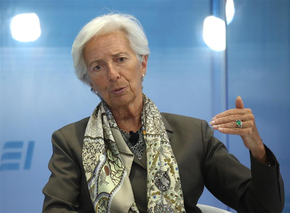 IMF's Lagarde warns of 'growing concerns' over trade tensions