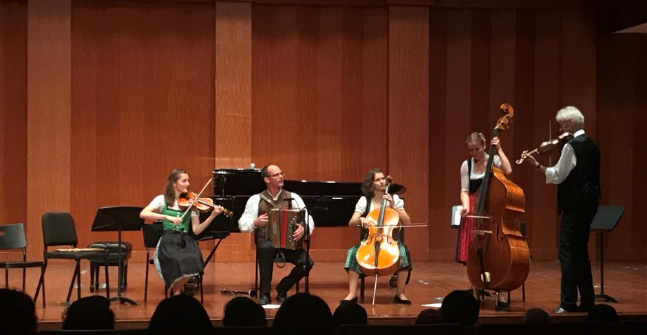 Rich intimacy of chamber music charms listeners