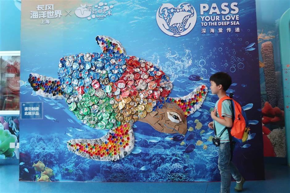 'Turtle' swims in to welcome World Oceans Day