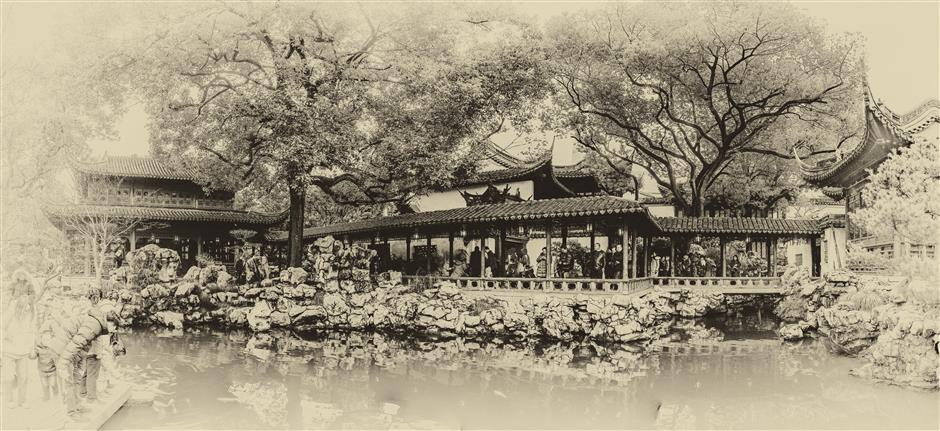 Photo exhibition captures charm of Huangpu's architectural legacy