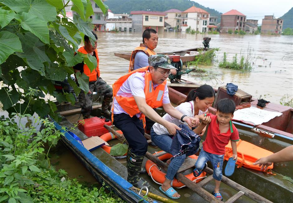Floods trigger emergency response