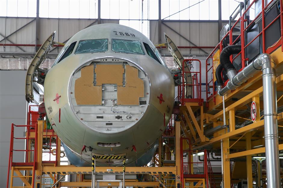 Airbus Tianjin final assembly line to ramp up to 6 A320s per month by 2020