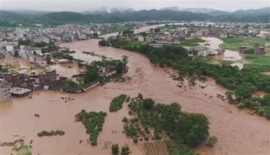 Heavy rain leaves 7 dead, 1 missing in south China province