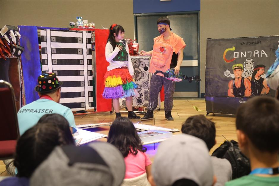 Imaginative students perform in global contest