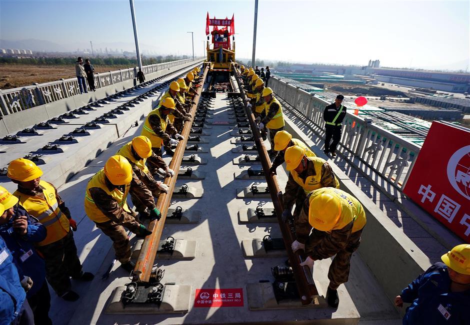 Beijing-Zhangjiakou railway set to cut travel time to 1 hour