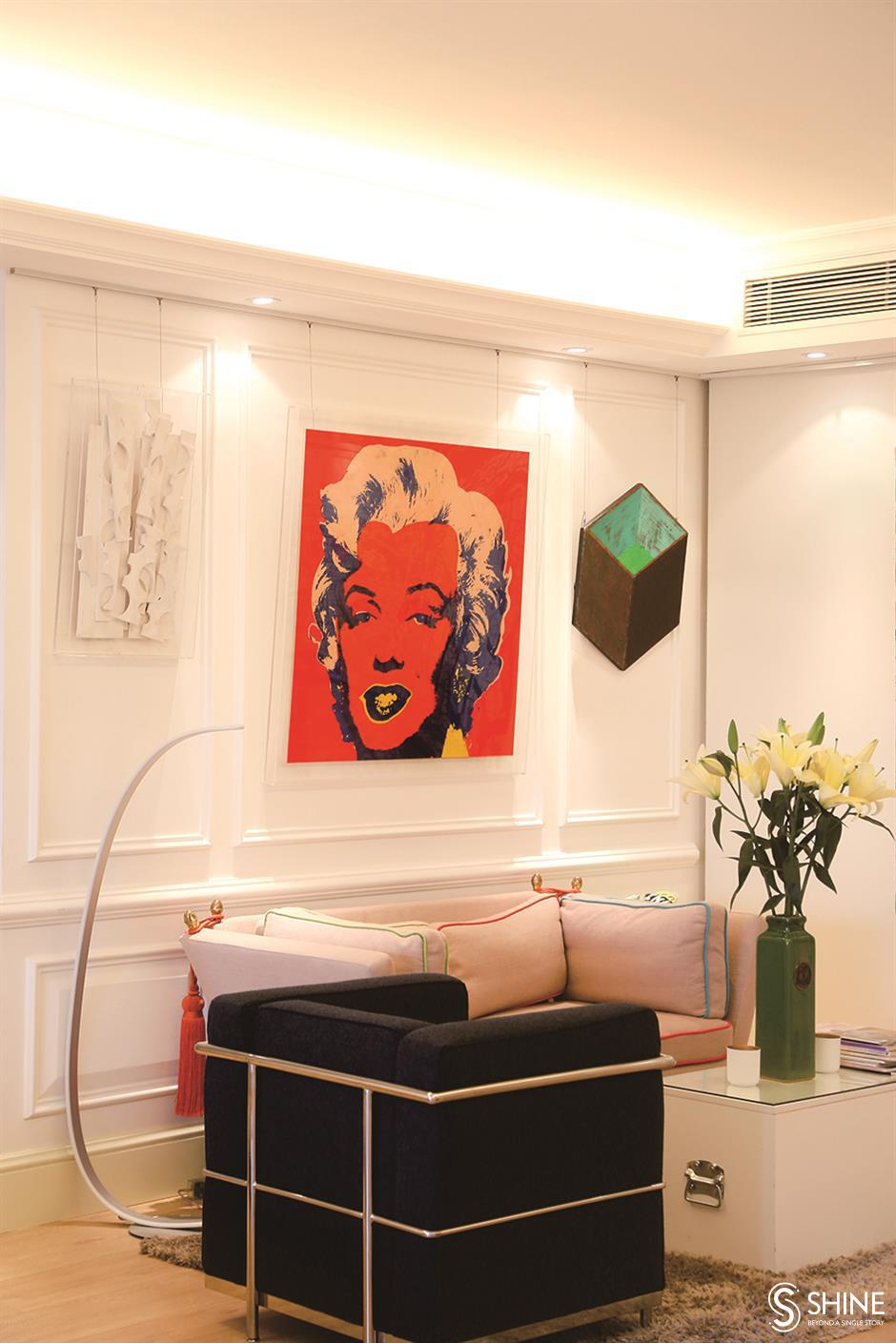 Modern homey space, stylish, cosy and light