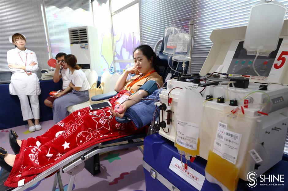 City celebrates World Blood Donor Day