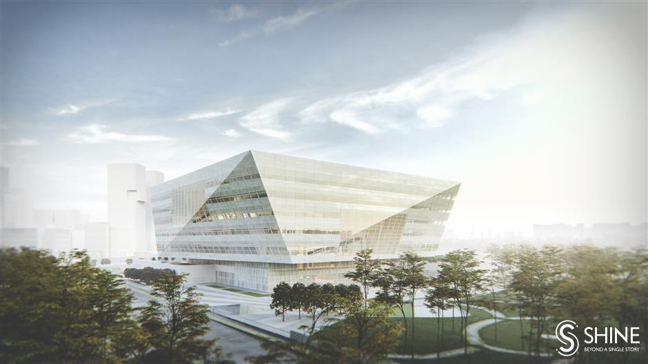 A new 'diamond' of culture is rising in Pudong