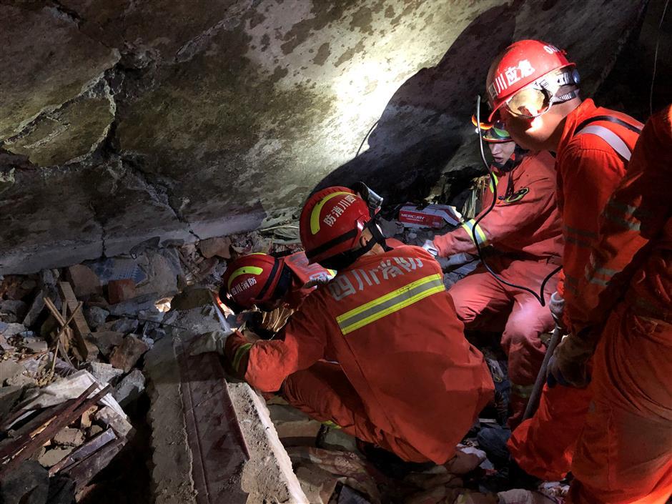 11 killed, 122 injured in Sichuan earthquake