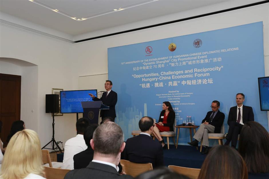 Hungary-China Economic Forum held in Budapest