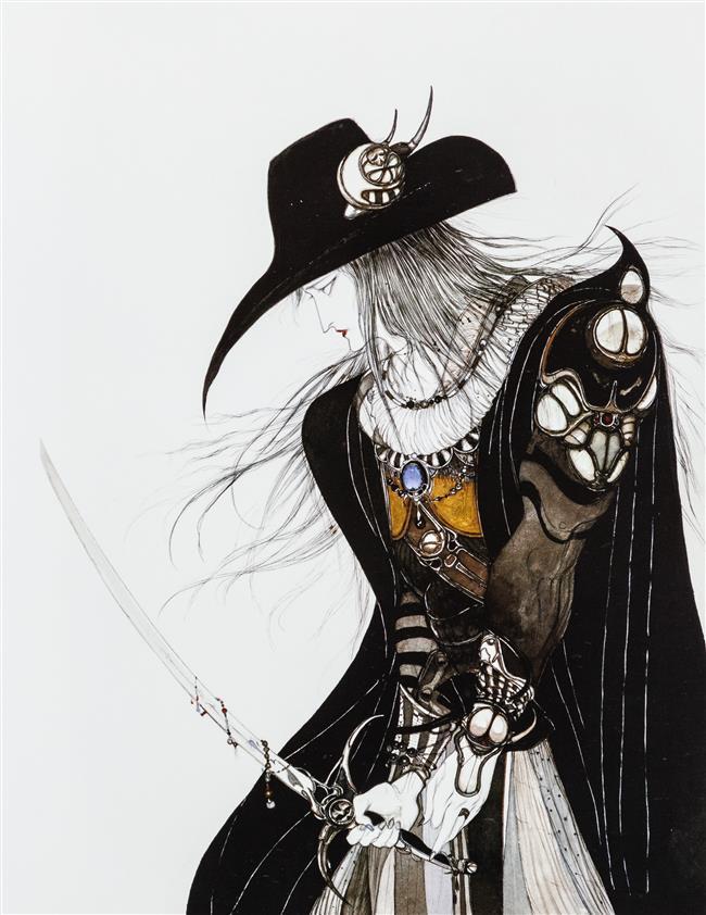 Yoshitaka Amano: an artist of many talents