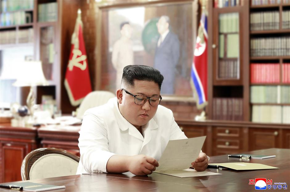Kim to 'seriously contemplate the interesting content' in Trump's letter