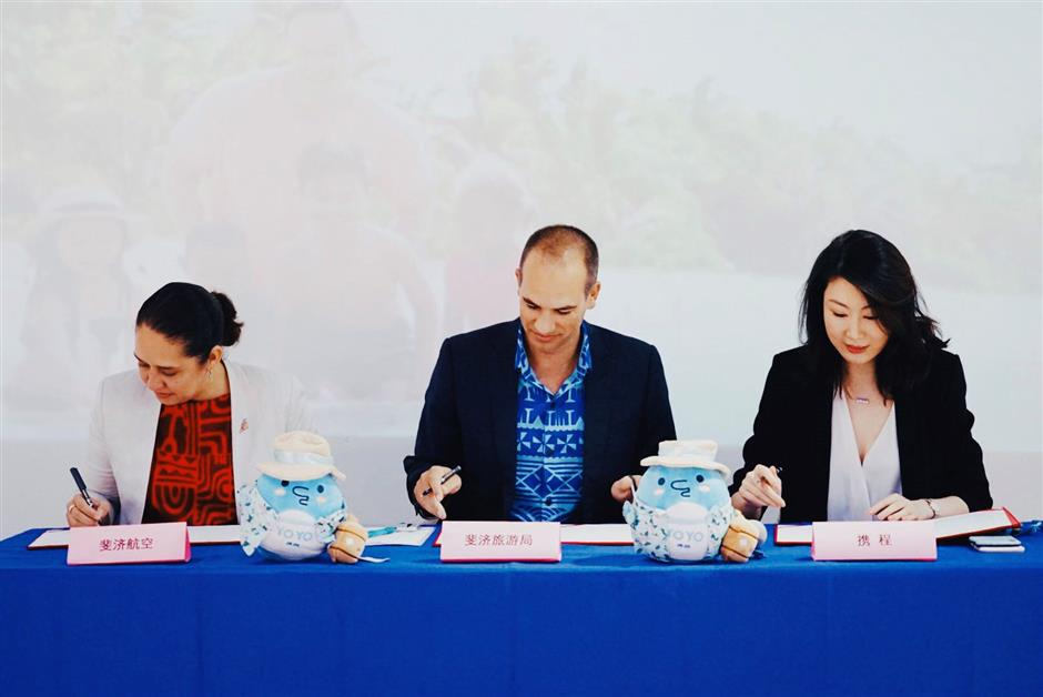Bula! Fiji signs Ctrip deal to attract Chinese visitors