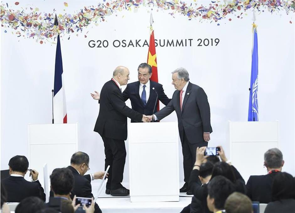 China calls for joint action in tackling climate change