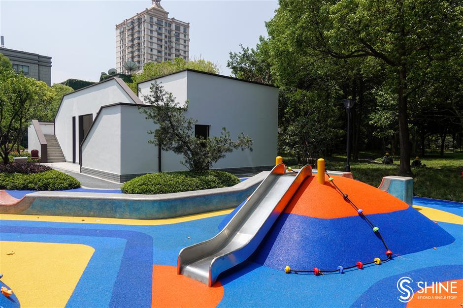 Zhabei Park reopens in style