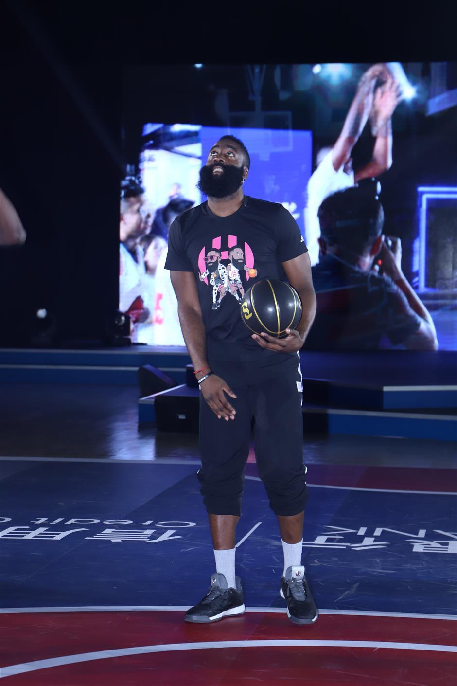 Foul lane:  Rockets' Harden apologizes for Shanghai traffic violation
