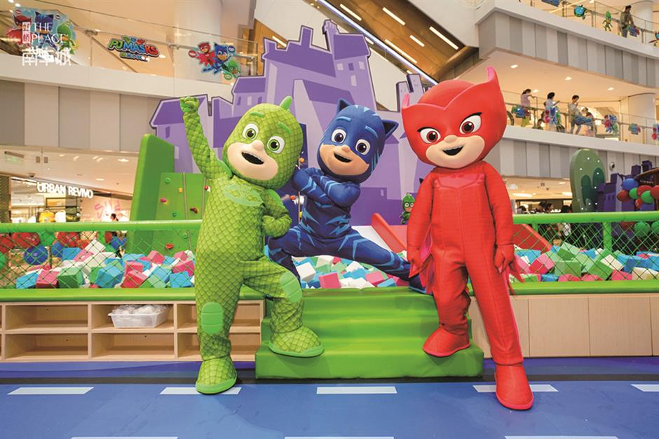 'Time to meet the heroes' for kids at the PJ Masks' fun park