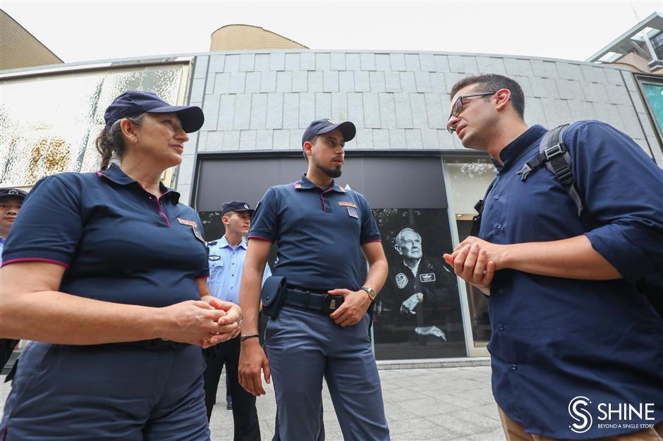 Italian police in Shanghai: It's a safe city
