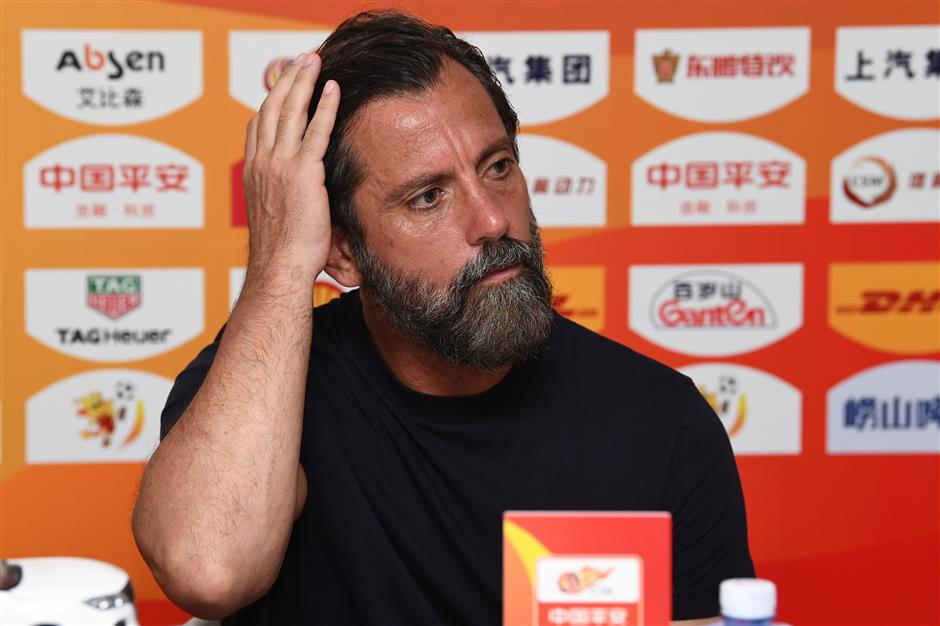 Sanchez Flores quits as Shenhua manager