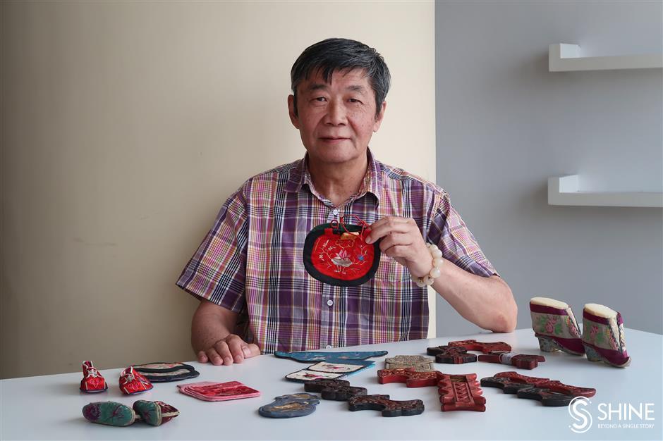 Heirlooms that  preserve ancient  needlework art