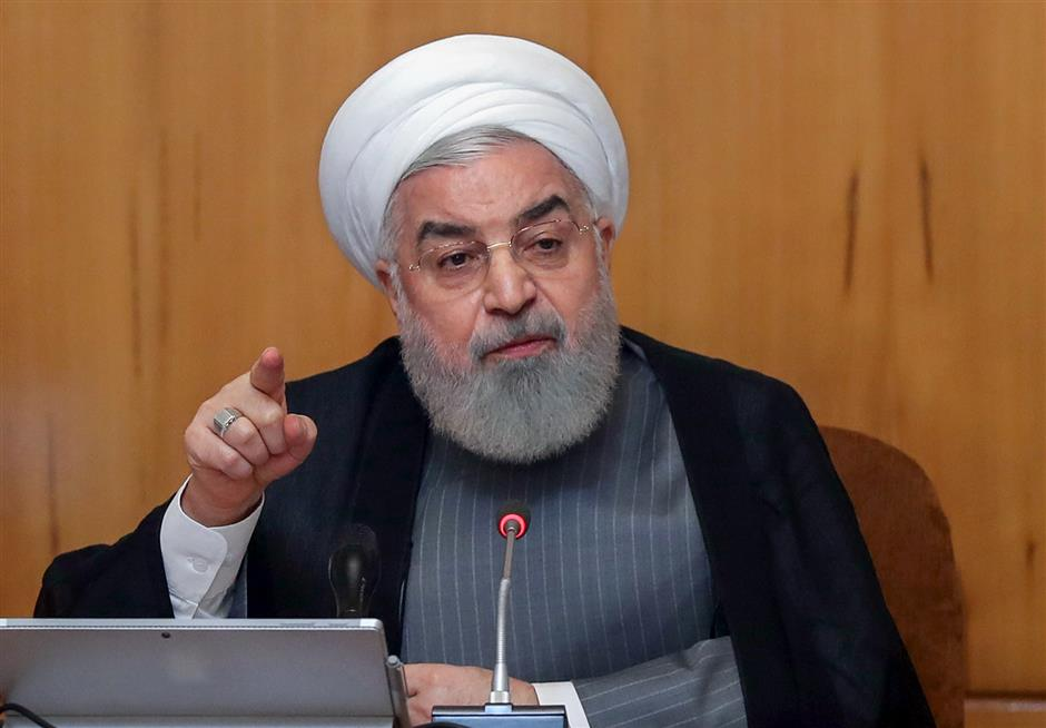 Iranian president says Iran to drop more of nuke commitments