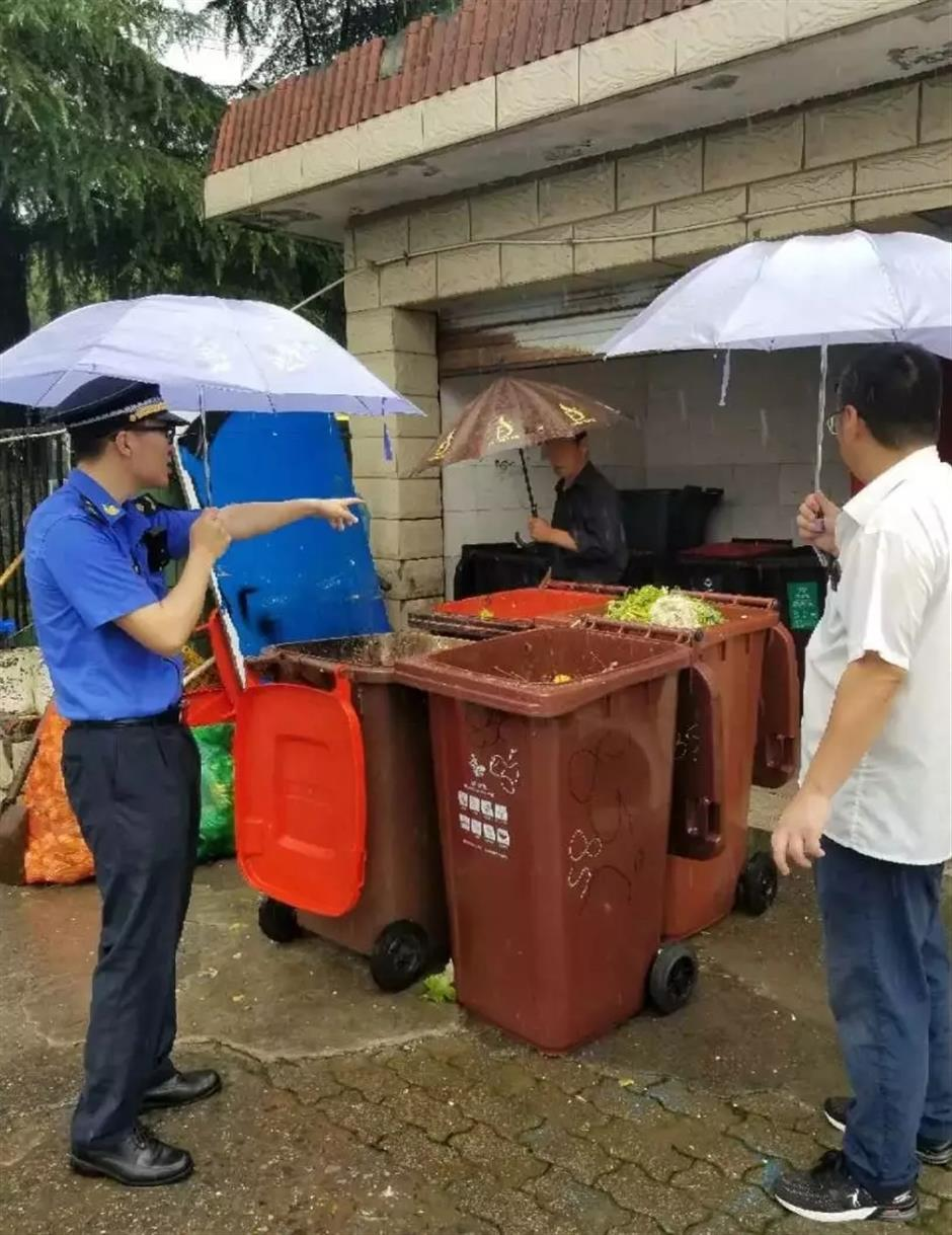 Supermarket slapped with US$4,350 fine over improper trash sorting