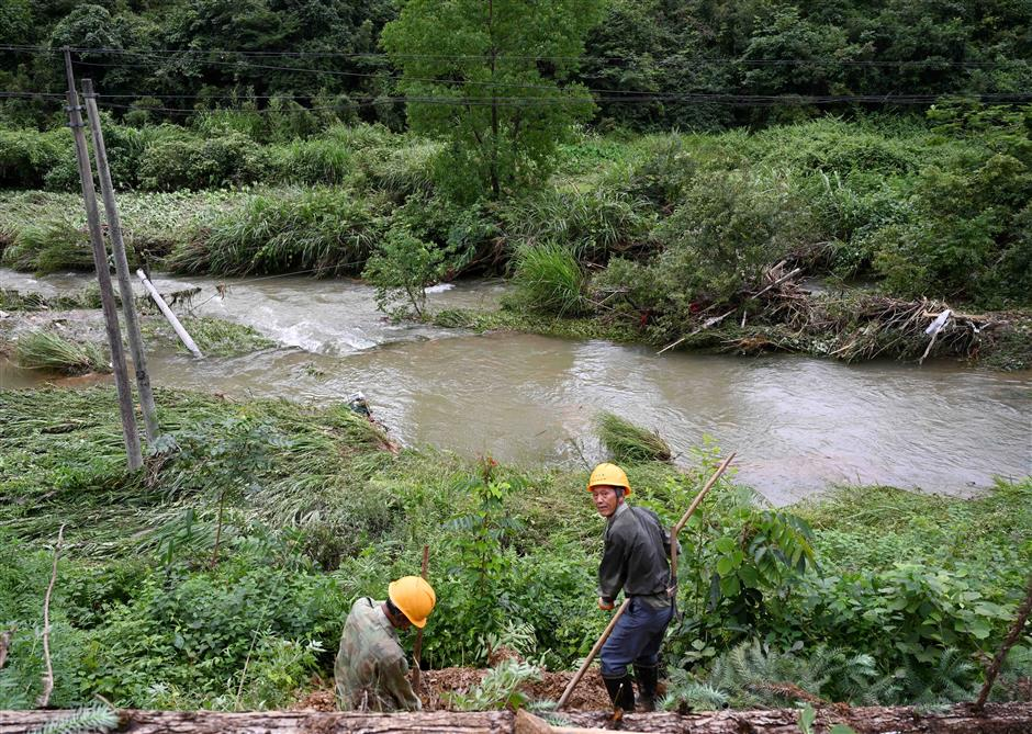 East China province activates emergency response for floods