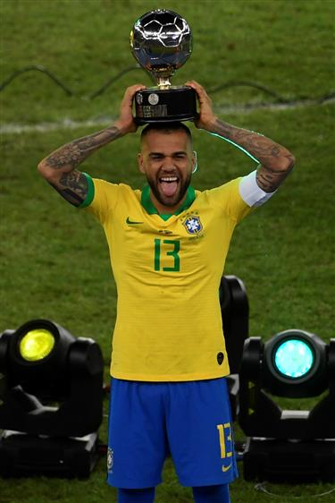 Brazil beat Peru 3-1 to win their ninth Copa America title