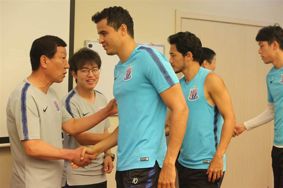 Shenhua, SIPG unveil new foreign signings
