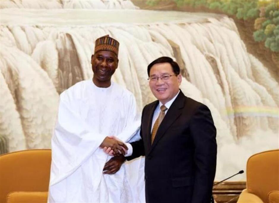 Party Secretary Li meets UNGA president-elect