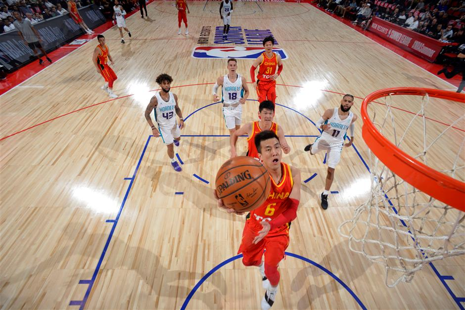China's World Cup team sees NBA Summer League as opportunity
