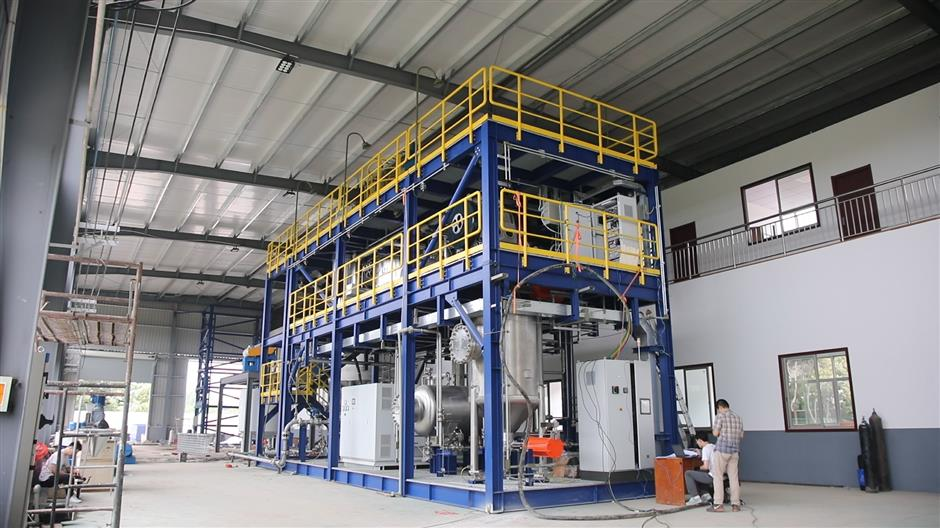Pudong facility converts waste to fertilizer