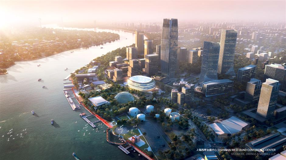 Global ideas for West Bund waterfront