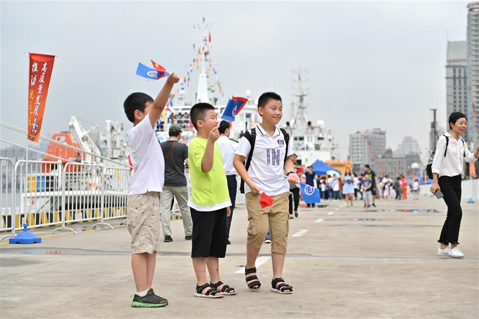 China's life on the ocean wave celebrated in style