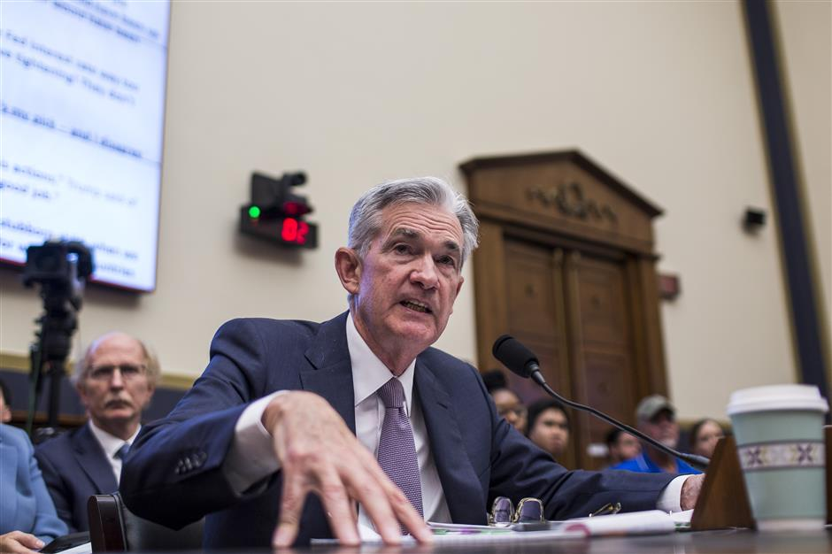 Fed's Powell says trade tensions weigh on US economy