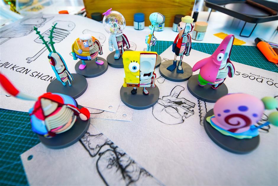 Jason Feeny's 'Groovy Things' on show at Joy City