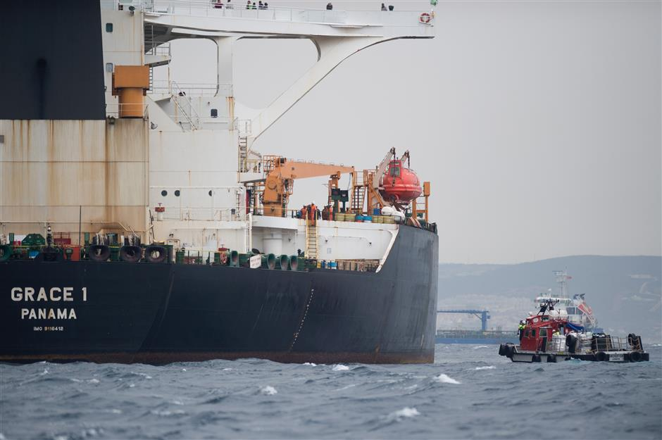 Iran urges Britain to release oil tanker 'soon'